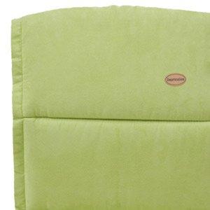 Siena Garden Auflage für Sessel, hoch, 125 x 52 x 6 cm Microfaser/uni lindgrün