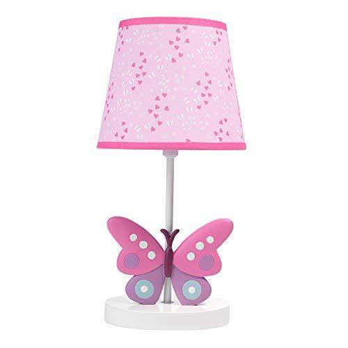 Bedtime Originals Lamp with Shade & Bulb, Magic Garden, Multicolor