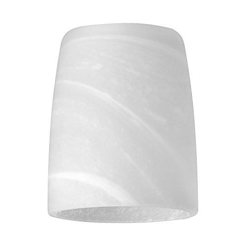 FISCHER M6 spot 16 Glas Lampenschirm alabaster Ø50mm Höhe60mm 25470