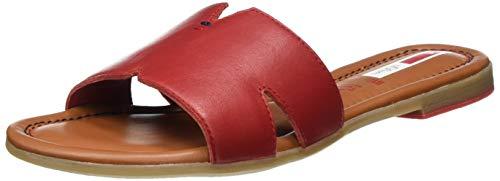 s.Oliver Damen 5-5-27114-24 Pantoletten, Rot (Bright RED 505), 40 EU