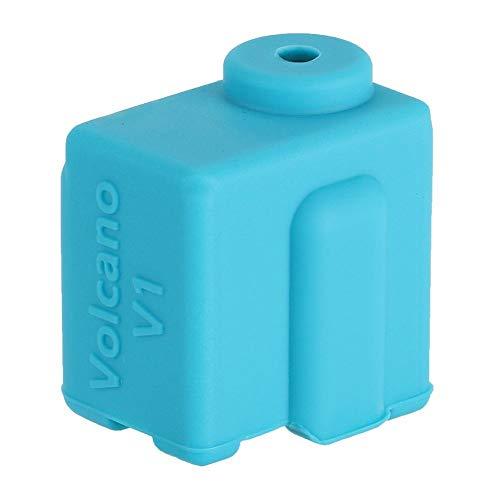 frenma Silikonhülle, Silikongehäuse, Volcano V1 für 3D-Druckerteil(Blue)