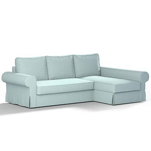 Dekoria Backabro 1020-702-10 Ikea Backabro - Sofá cama con chaise longue