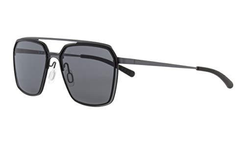 Spect Eyewear Clearwater 001 - Gafas de sol, color gris y negro