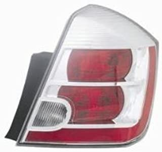 OE Replacement Nissan/Datsun Sentra Passenger Side Taillight Lens/Housing (Partslink Number NI2819114)