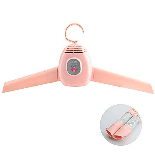 JIEZ Perchero para Secadora, portátil, eléctrico, Plegable, pequeño, para secadoras, Zapatos Calientes,...