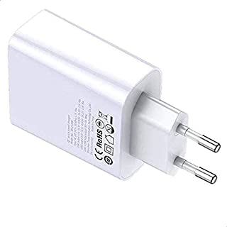 Baseus BS-CH906 Speed Dual USB Quick Charger, 30 Watts - White