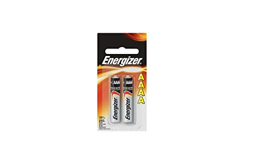 "Eveready Battery E96BP-2 2-Pack""AAAA"" Alkaline Batteries - Quantity 6"