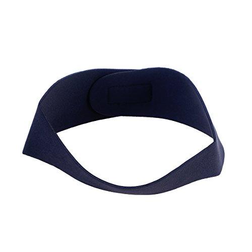 VORCOOL Schwimmen Stirnband Neopren Einstellbare Yoga Tauchen Ohren Schutz Haarband für Kinder Erwachsene (Schwarz L)