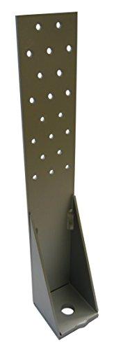 1 Stück Zuganker Typ R 540x60x60x3.0 Verbindung Holz / Beton / Weichholz / Stahl