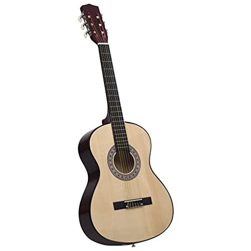 Madera de Tilo, Nailon, plástico Duro Guitarra clásica niños y Principiantes Madera de Tilo 3/4 36' Arte y Ocio Hobbies y Artes Creativas Instrumentos Musicales Instrumentos de Cuerda Guitarras