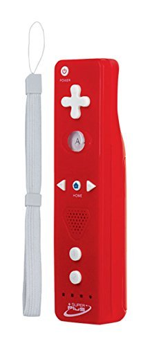 Tomee Super Plus Wireless Remote for Wii U/Wii - Red