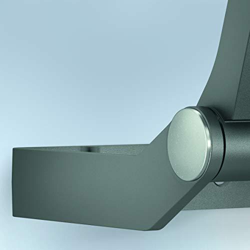 Steinel LED Outdoor Floodlight XLED ONE XL Sensor Anthracite, 180° Motion Detector, 43.5 W, 4400 lm, Warm White, Aluminium