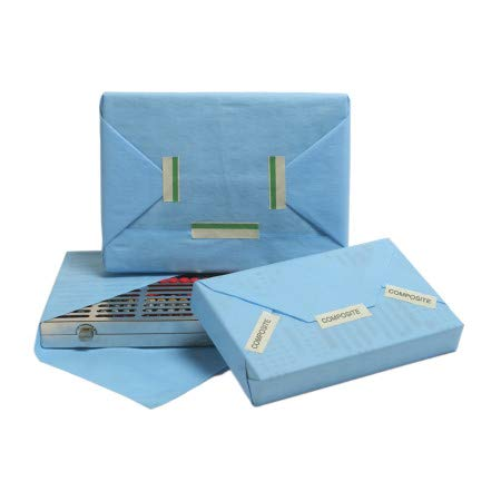 HUF IMS Universal Wrap 15 in x 15 in Blue Box/100