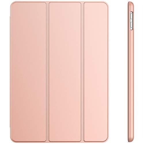 JETech Hülle für iPad 7 (10,2 Zoll, Modell 2019, 7. Generation), Auto Schlafen/Wachen (Roségold)