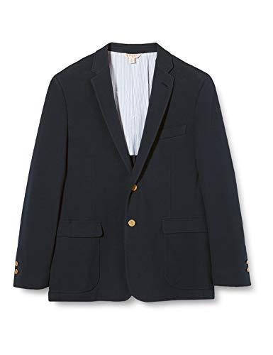 Brooks Brothers 100076883 Giacca Sportiva, Blu (Navy), 60 (Taglia Produttore: XL) Uomo