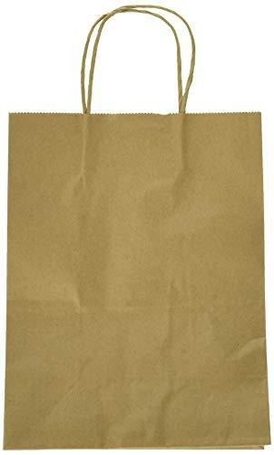 8'x4.75'x10' 50 pcs- Brown Kraft Paper Bags Shopping Bags Party Bags Retail Bags Craft Bags Brown Bag Natural Bag