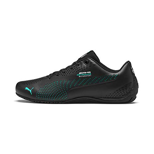 PUMA Mercedes AMG Petronas Drift Cat 5 Ultra II Sneaker Puma Black-Spectra Green UK 7.5_Adults_FR 41