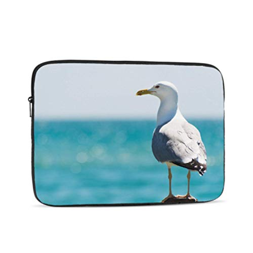 Macbook Case Common Gull Flying Above River Mac Book Pro Accessories Multi-Color & Size Choices10/12/13/15/17 Inch Computer Tablet Briefcase Carrying Bag
