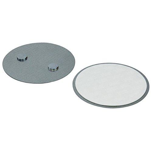 LogiLink SC0005 Magnetisches Befestigungsset für Rauchmelder - Einfache und schnelle Montage, Grau