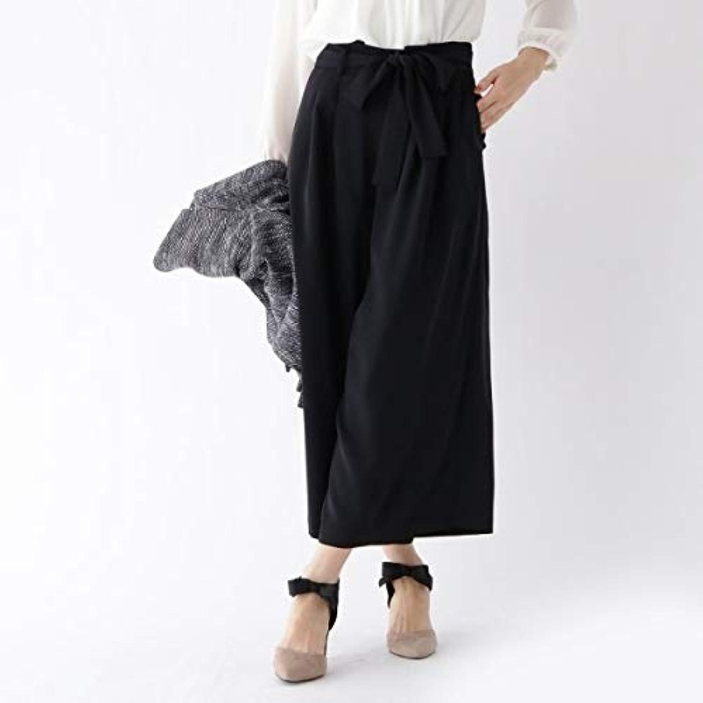 クチュールブローチ(Couture Brooch) Lパンツ(【WEB限定サイズ(LL)あり】リボンベルト付きワイドパンツ)