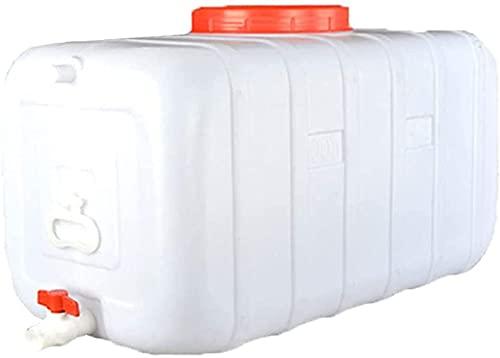 TYX-SS Envase De Almacenamiento De Agua De Plástico Cubo Portátil Hogar Grande Agrícola Tap Agua Pure Agua Almacenamiento Cubo De Almacenamiento Al Aire Libre Campin,110L
