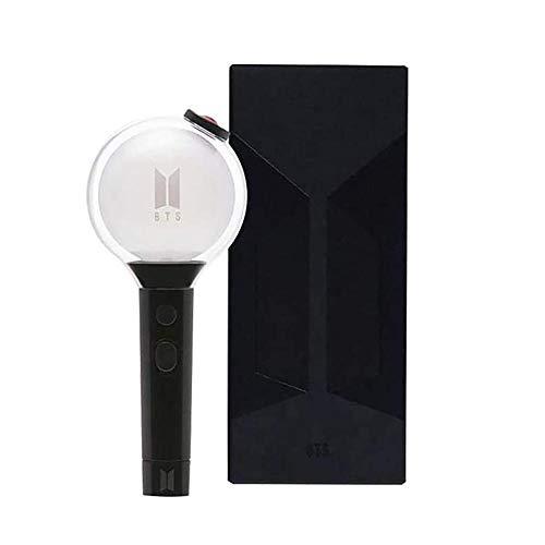 BTS Merch Army Bomb Official Lightstick Map of The Soul Édition spéciale, Ver 4 Bluetooth App Régler la couleur des concerts et la lumière (y compris 7 cartes)