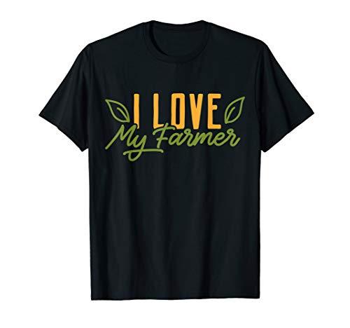 Farmer Farming Farmer's Wife Girlfriend Gift T-Shirt