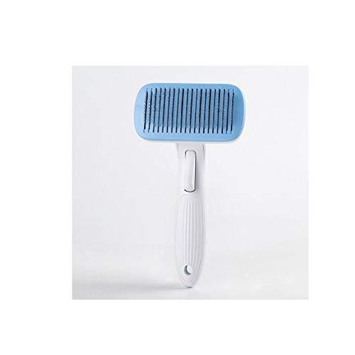 Dapang Pet Supplies Automatische Haarentfernung Kamm Haarentfernung Kamm Massage Selbstreinigungsnadel Comb Haarentfernung Nadel Hund Katze Allgemein
