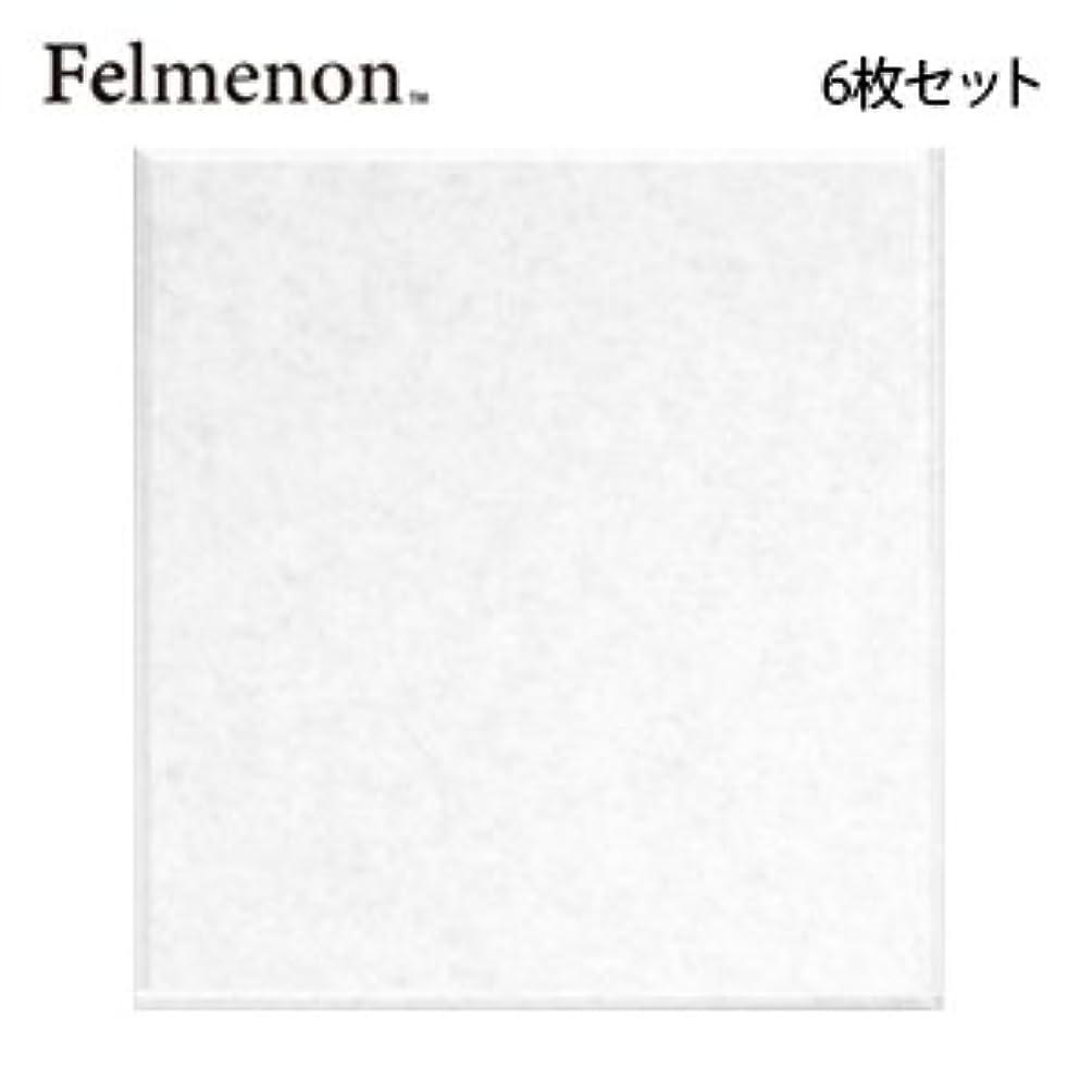 運動する素晴らしき記録フェルメノン 吸音パネル 45度カット ホワイト 40×40cm 6枚セット