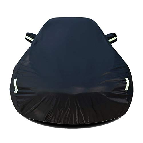 Abdeckung Autoabdeckplane Kompatibel mit Porsche 911 Carrera GTS Wasserdicht Autoabdeckung Vollgarage Plane Autogarage Autoplane Anti-UV Auto Abdeckplane Schutzhülle atmungsaktive Vollgarage Autoschut