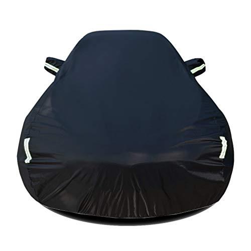 Autoabdeckung Kompatibel mit Peugeot 208 Autogarage Ganzgarage atmungsaktive Abdeckung Vollgarage Abdeckplane Wasserdicht Sonnenschutz UV-Schutz Wetterfest Autoplane Faltgarage Auto Hülle Schutzhülle