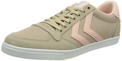 hummel Womens Slimmer Stadil Low Sneaker, Humus,41 EU