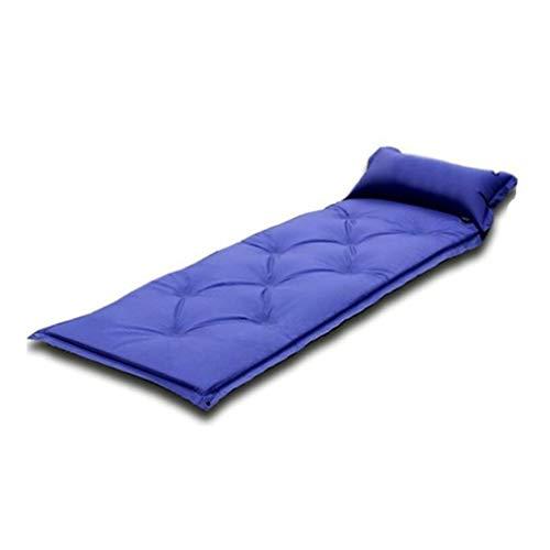KUYUC Isomatte Camping Luftmatratze Aufblasbare mit Kissen, Ultraleichte Camping Matratze Schlafmatte für Outdoor Backpacking Wandern (Color : Green)
