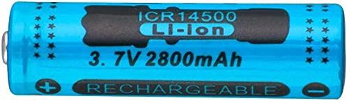 Batería Recargable de batería de Iones de Litio 2800mAh 37V de la batería de 3.7V para la Linterna LED o una batería Puntiaguda de Equipos electrónicos-PC 1