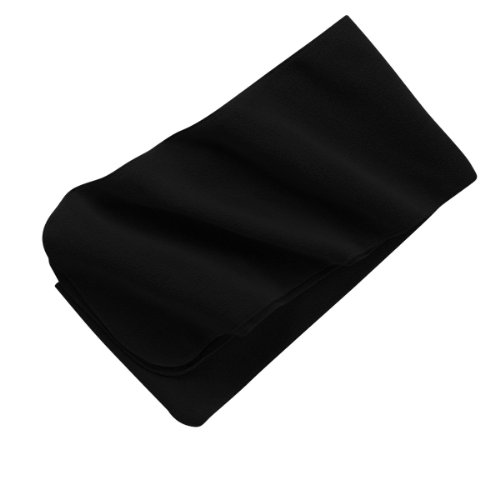 Port Authority - Extra Long Fleece Scarf, Black