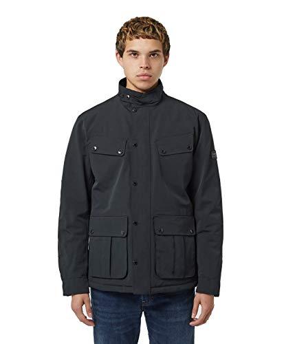 Barbour MQU1240-NY71 New International Quilted Ariel Jacket Steppjacke für Herren, Marineblau, Regular Fit, Blau XXL