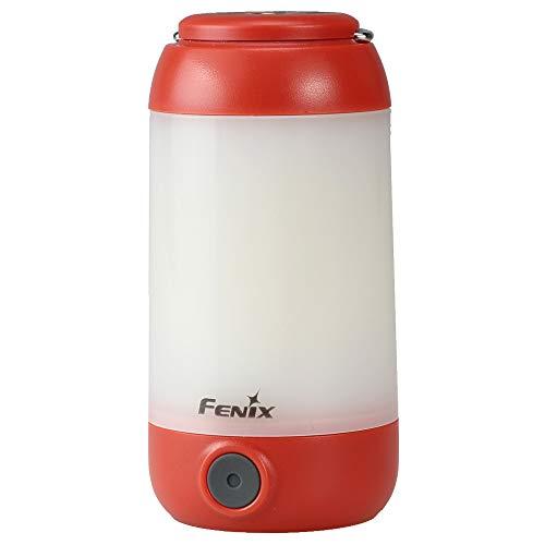 FEX CL26R Fenix CL26R-Lámpara LED de Camping (400 LM), Color Rojo, Unisex, Naranja, Small