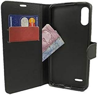 Capa Carteira LG K22 (Tela de 6.2 - Cor Preta) Capinha Case Flip