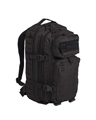 Mil-Tec US Assault Pack Backpack Sm Laser Cut–Black