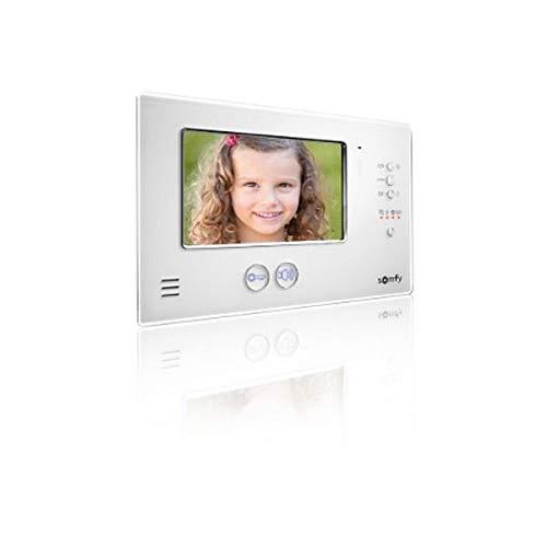 Somfy - Monitor adicional para videoportero V200, color blanco