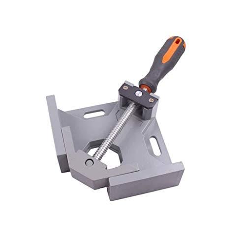 Abrazadera de ángulo recto de 90°, herramientas de abrazadera de esquina de tornillo ajustable, para carpintero, trabajo en madera, ingeniería, soldadura, carpintero, enmarcado de fotos