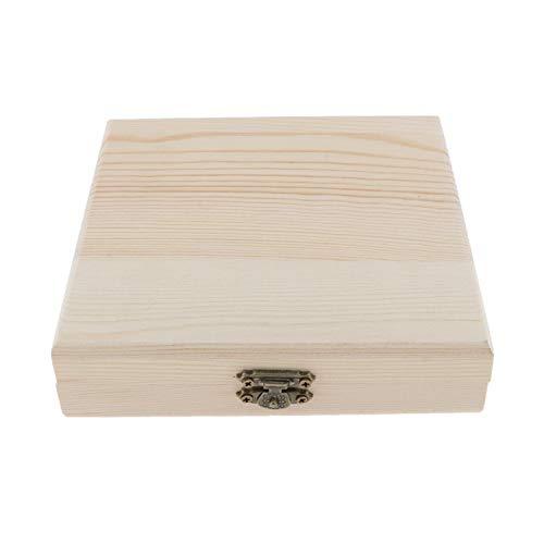WWDD Lwmnbhd Caja de Almacenamiento Recuerdo de Madera de la Caja de cigarros Cajas de Cigarrillos vacías