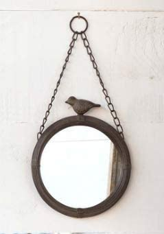 Park Hill Collection Hanging Bird Mirror Small Indianapolis Mall Brand Cheap Sale Venue