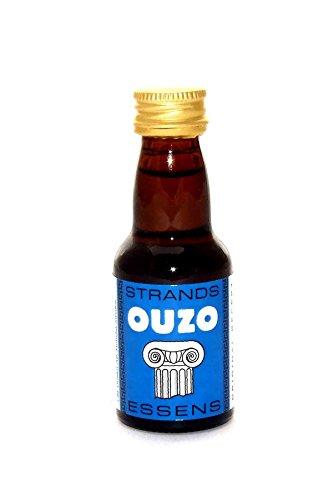 OUZO - Spirituosen Essenz, Wodka Aroma Essenz Konzentrat Vodka Fusel Turbohefe / 25ml Für 0.75L Alkohol…
