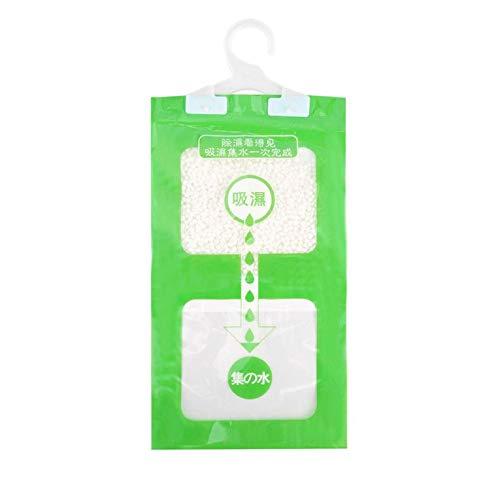 Armario colgante humedad bolsas cocina baño armario deshumidificador bolsas agente de secado higroscópico anti-moho bolsa desecante