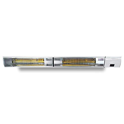 FLAMY Estufa Infrarroja, Calefactor Radiante,Calentador Eléctrico De Pared para Exteriores,Potencia Máxima 3000W, Nivel De Protección IP55, Área Aplicable 20-30㎡, con Control Remoto
