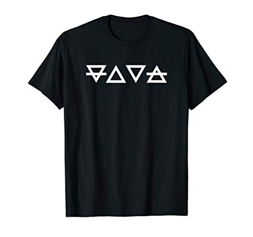 Earth Water Fire Air - Alchemy Elements T-Shirt