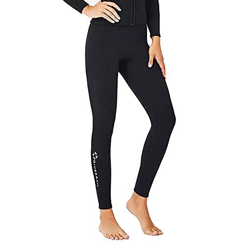Wenlia 2mm Muta in neoprene Pantaloni per donna, Kayak Canoa Surf Snorkeling Vela Leggings invernali Pantaloni da nuoto