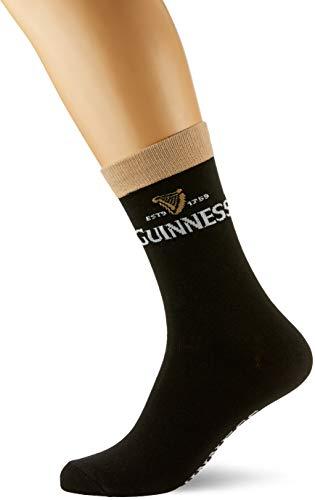 Guinness Official Merchandise Chaussettes Homme - Noir - Noir - FR : Taille unique (Taille fabricant : One Size)