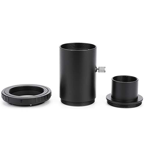 Tubo de extensión, 1.25 Pulgadas Tubo de extensión del telescopio M42 Rosca Adaptador de Montaje en T Anillo T2 para cámara Nikon